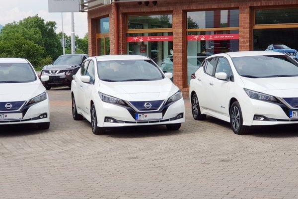 Tieto autá pribudnú do servisu jednej martinskej taxislužby.