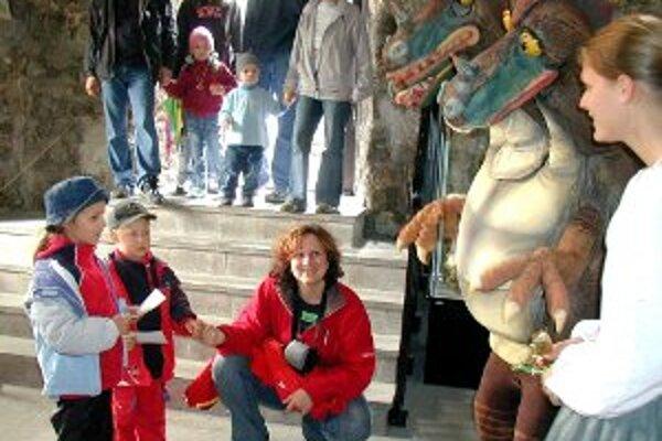 Deti sa budú môcť stretnúť aj s trojhlavým drakom Strečkom.