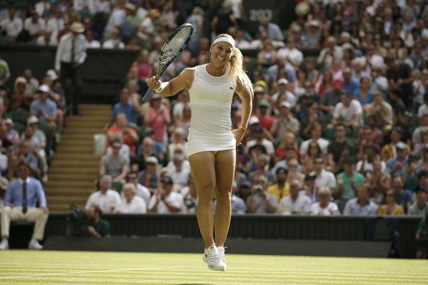 Dominika Cibulková postúpila vo Wimbledone do tretieho kola.