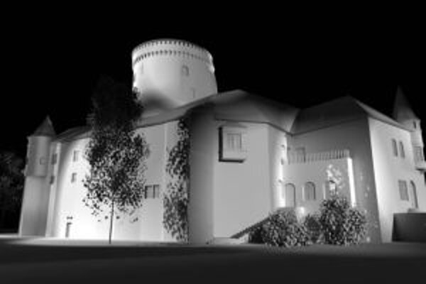 Budatínsky hrad by od septembra mal byť osvetlený.