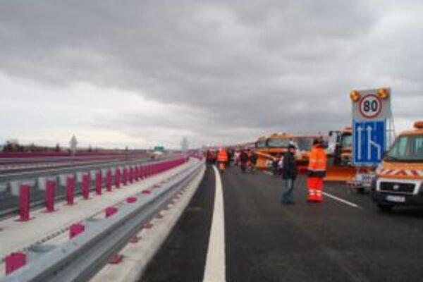 Stavba diaľnice D1 v okolí Žiliny by mala skončiť ako posledná.