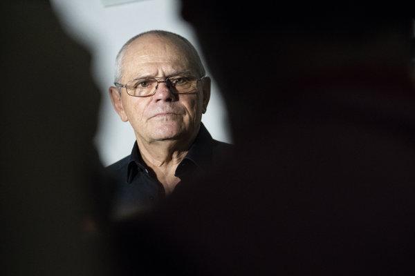 Milan Kňažko pred súdnym pojednávaním s Pavlom N.