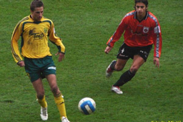Žilinský útočník Stanislav Šesták  (na archívnej snímke) zasiahol do diania v sobotnom kvalifikačnom zápase proti Cypru až v posledných desiatich minútach.