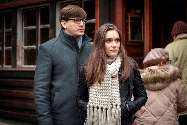 Judit Bárdos vo filme Chata na predaj