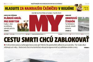 V stánkoch je nové číslo MY novín.