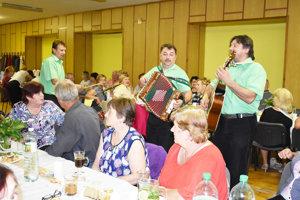 Z osláv výročia Jednoty dôchodcov.