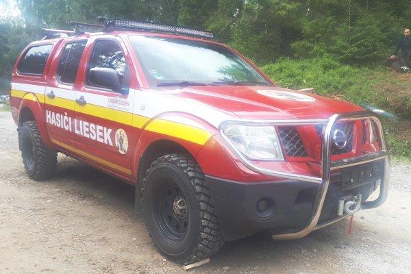 Lieseckí dobrovoľníci majú ako prví na hornej Orave takéto vozidlo na prvý zásah v ťažko dostupnom teréne.