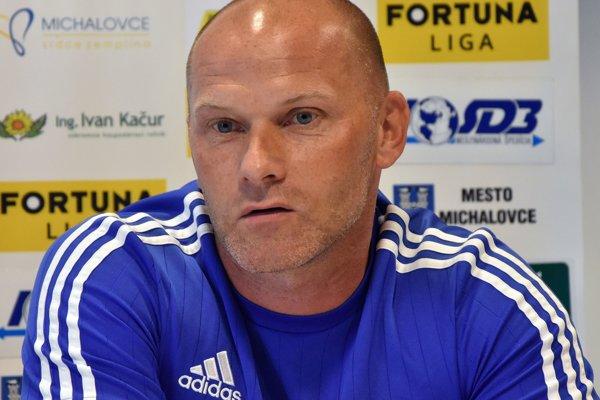Michalovský tréner Anton Šoltis.