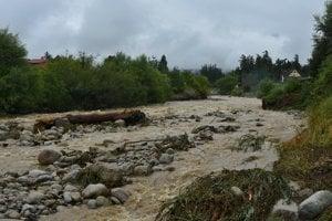 Studený potok v Starej Lesnej.