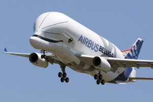 Prvý let Airbusu Beluga XL