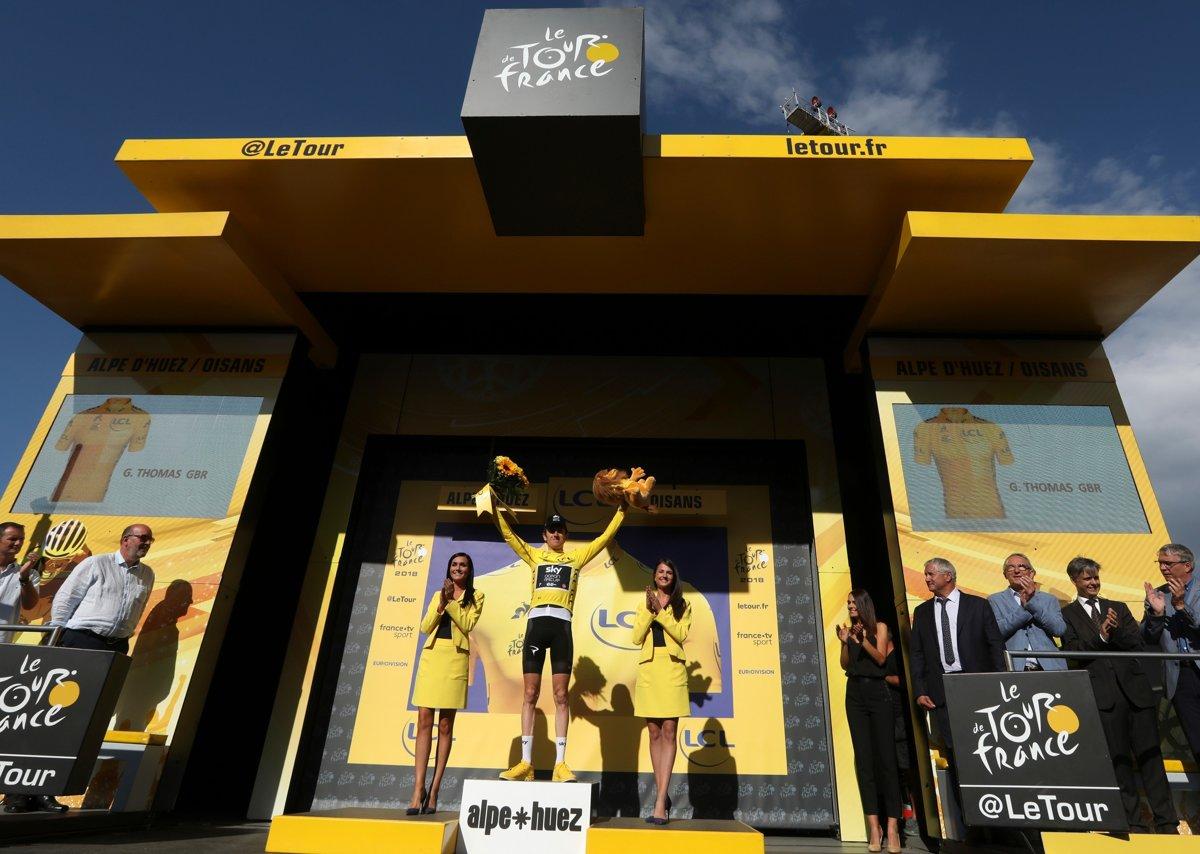 Geraint Thomas si udržal žltý dres aj po 12. etape na Tour de France 2018 a913c9996c4