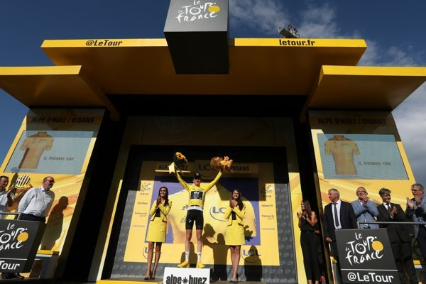 Geraint Thomas si udržal žltý dres aj po 12. etape na Tour de France 2018.