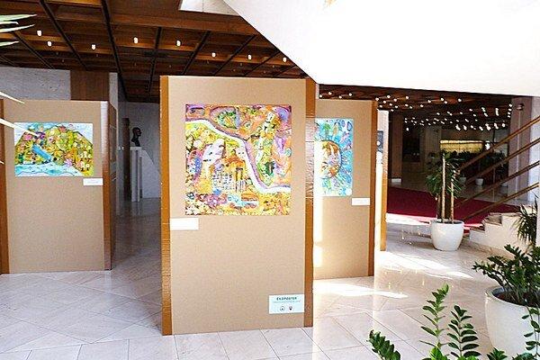 Výstava detských prác sekologickou tematikou.