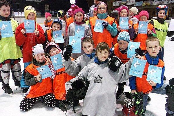 Projekt Škola korčulovania sa teší medzi deťmi veľkej obľube. Do tohto ročníka sa zapojilo viac ako 500 účastníkov.