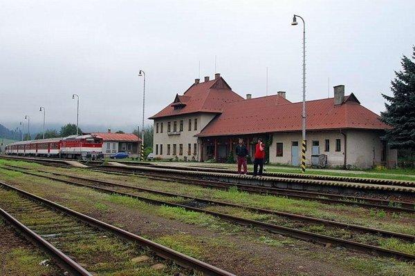 Stanica Horná Štubňa.