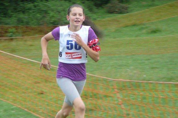 Mária Remeňová sa mohla na majstrovstvách oprieť o skvelý bežecký výkon.