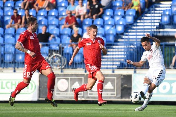 Senica v tejto sezóne raz Spartak zdolala 1:0 a následne mu podľahla 1:4.