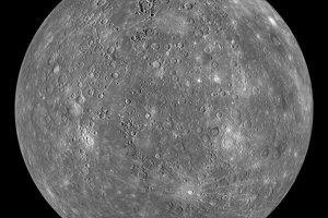 Globálna mozaika Merkúra.