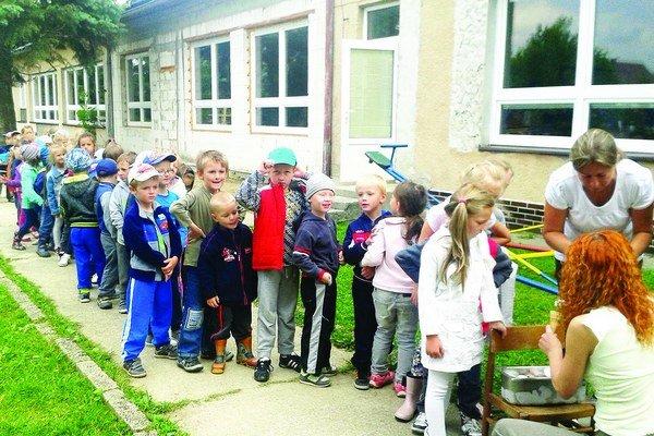 V prístavbe materskej školy vznikla nová trieda.