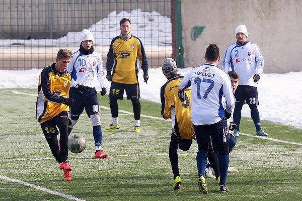 Námestovskí futbalisti sú v príprave zatiaľ stopercentní.
