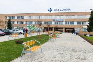Nemocnica Spišská Nová Ves.