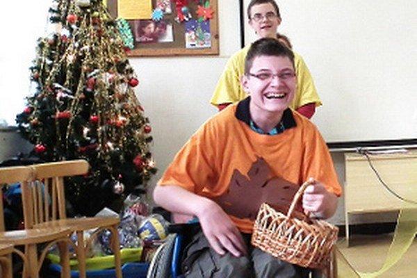 Vianočný program v podaní detí s telesným postihnutím pohladil na duši.