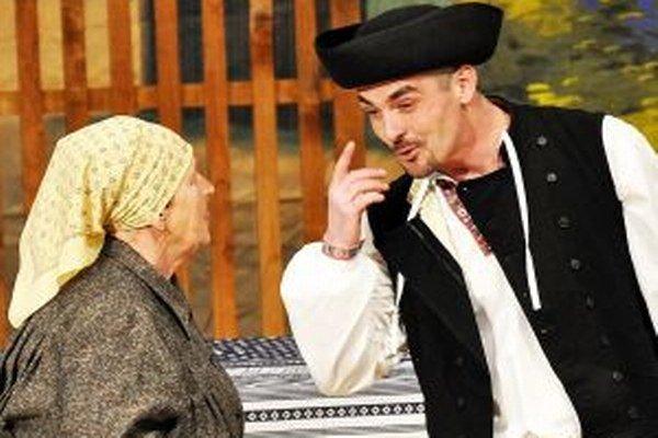 Ľubomír Škyvra je režisérom aj hercom.