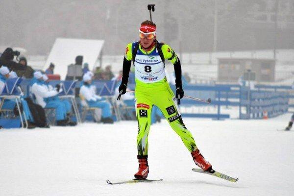 Alžbeta Majdišová začala s biatlonom ako desaťročná.