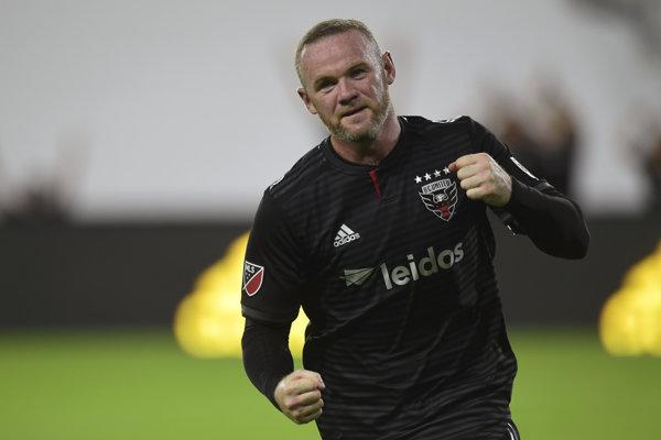 Wayne Rooney v drese DC United.