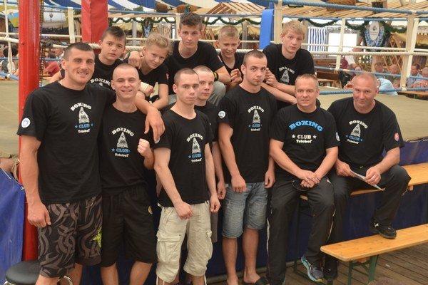 Výprava oravských boxerov v Nemecku.