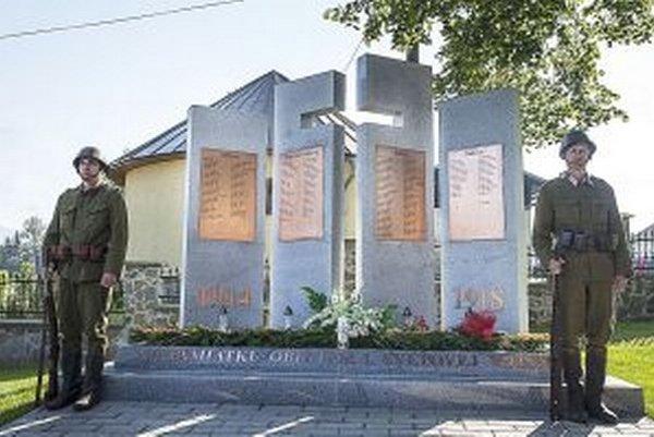 Pamätník v Rabči ukázali svetu 27. júla, deň pred stým výročím začiatku prvej svetovej vojny.