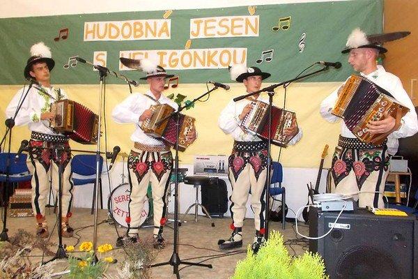 Na fotke sprava Tomáš Chovančák, Tomáš Buček, Tomáš Šuvada a Michal Šuvada.