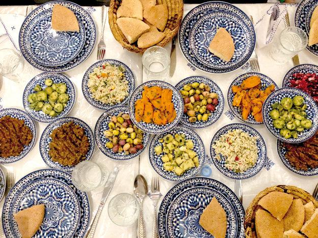 Tradičná marocká večera