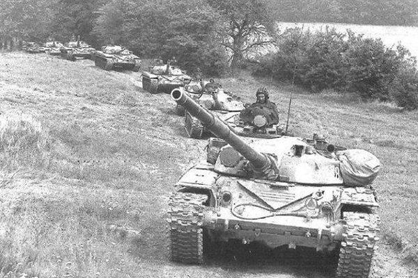 Ďurkovčania naviedli ruské tanky do lesa.