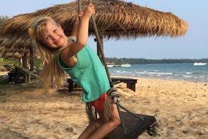 Linda v Thajsku.