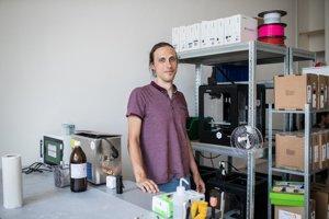 Matej Korytár tvrdí, že 3D tlač má veľkú budúcnosť, len sa musí vyriešiť jej pomalosť.