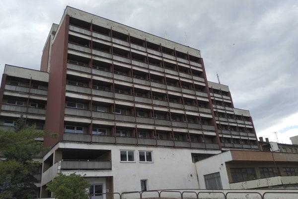 Budova košickej geriatrie.