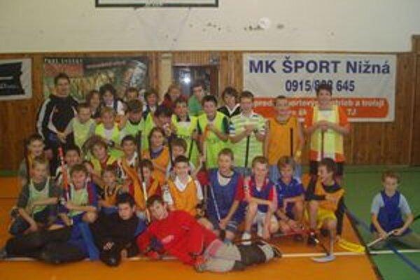 Účastníci Mikulášskeho turnaja v Nižnej.