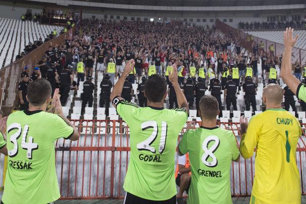 Spartak Trnava remizoval v úvodnom zápase s Crvenou zvezdou 1:1.