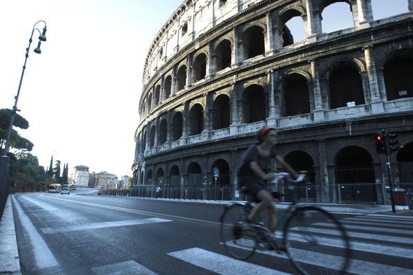 Rím (ilustračná fotografia).