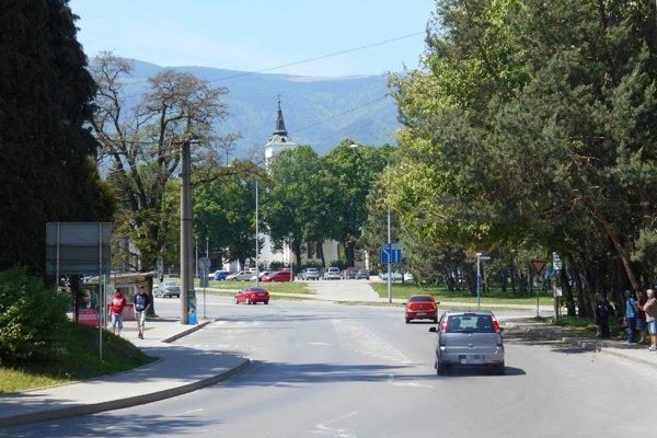 Súčasný pohľad na bývalú Smrtnú ulicu.