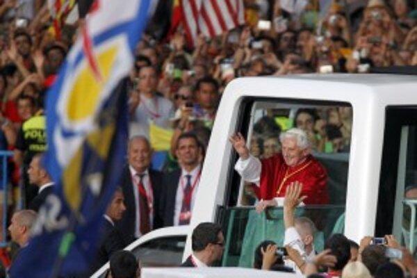S pápežom v Madride.