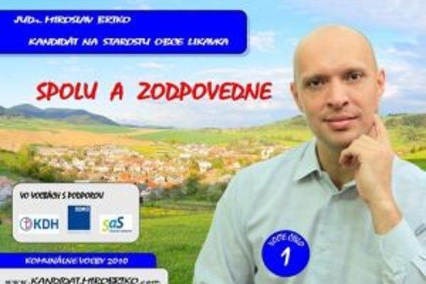 Chcel byť starostom. Miroslav Brtko bude napokon policajným riaditeľom.