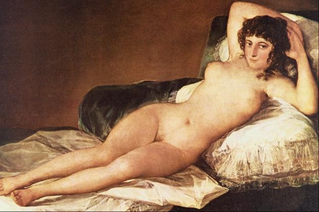 Francisco Goya: Nahá Maja,1797–1800