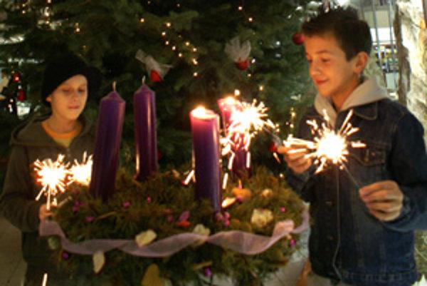 Vianočná atmosféra.