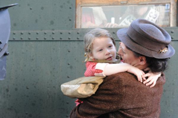 Záber z filmu Nickyho rodina.