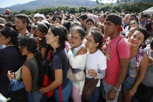 Mnohí z Venezuelčanov na úteku boli nakazení osýpkami.