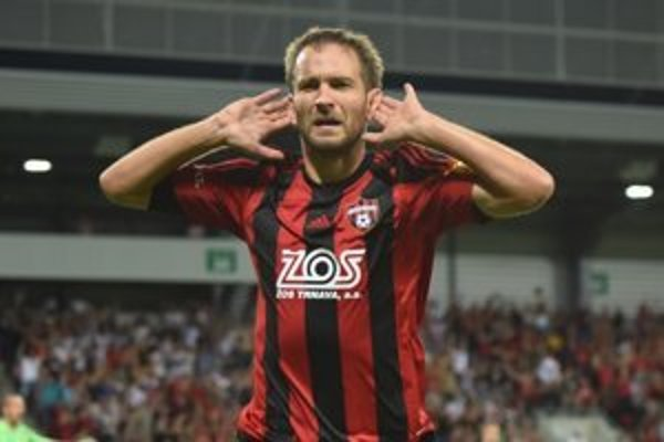 Bakoš oslavoval prvý gól.
