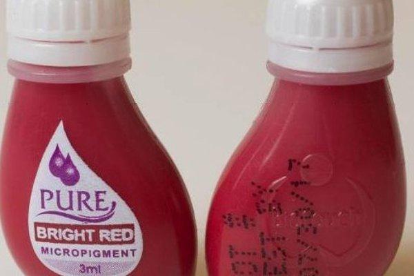 Farba na tetovanie Pure Bright Red z USA.