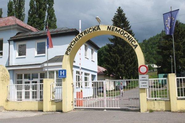 Psychiatria v Kremnici.